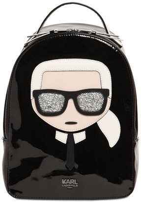 Karl Lagerfeld Paris Faux Leather Backpack