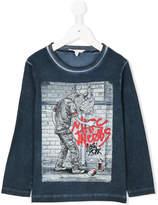 Little Marc Jacobs graffiti printed T-shirt