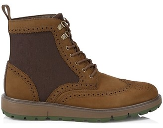 Swims Motion Wing Tip Lace-Up Boots