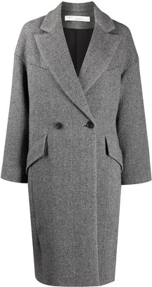 IRO Wool-Blend Double-Breasted Coat