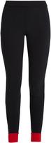 NO KA 'OI NO KA'OI Contrast-trim performance leggings