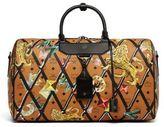 MCM Leather Weekender Bag