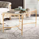 Safavieh Gold Finish Contemporary Coffee Table