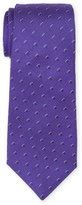 Roda Purple Neat Silk Tie