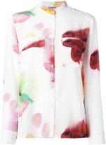 Cacharel blurry print shirt - women - Silk - 36