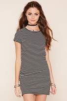 Forever 21 FOREVER 21+ Striped T-Shirt Dress