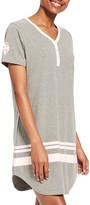 U.S. Polo Assn. Women's Sleep Tops charcoal - Charcoal Heather 'USPA' Sleep Dress - Women
