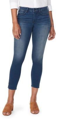 NYDJ Ami High Waist Zip Ankle Skinny Jeans