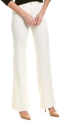 Burberry Jersey Wide Leg Trouser