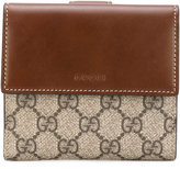 Gucci 'GG Supreme' French flap wallet - women - Calf Leather - One Size