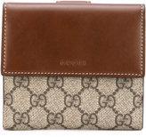 Gucci 'GG Supreme' French flap wallet