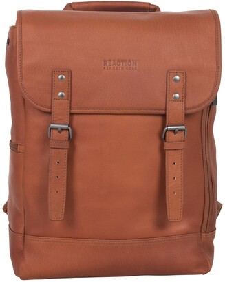 """Kenneth Cole Reaction Colombian Leather 15.0"""" Computer Backpack"""
