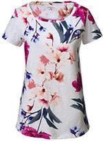 Classic Women's Art T-shirt-Ivory Multi Stripe