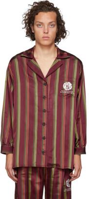 GCDS Red Logo Palazzo Shirt