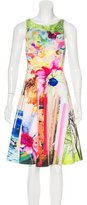 Clover Canyon Abstract Print Sleeveless Dress