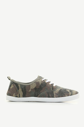 Ardene Canvas Laced Sneakers