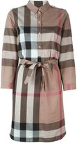 Burberry 'House Check' shirt dress