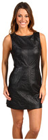Juicy Couture - Leather Ruffle Dress