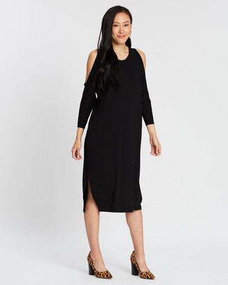 Isabella Oliver Halina Maternity Cut Out Dress