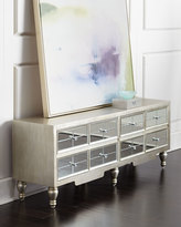 Horchow Mara Mirrored Entertainment Console