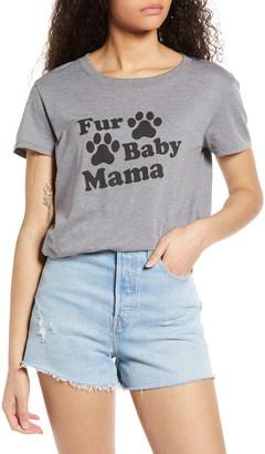 Sub Urban Riot Fur Baby Mama Graphic Tee