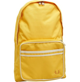 Fred Perry Mens Twin Tipped Backpack Sunglow