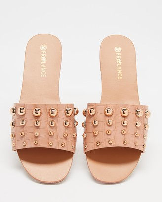 Freelance Shoes - Women's Flat Sandals - Crete - Size One Size, 38 at The Iconic