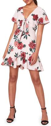 BB Dakota Beverly Hills Floral Mini Dress