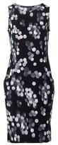Dorothy Perkins Womens Izabel London Black Polka Print Dress, Black