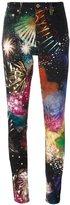 Roberto Cavalli 'Stardust' skinny trousers - women - Cotton/Polyester/Spandex/Elastane - 40