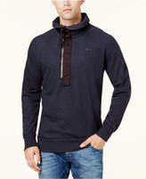 G Star Men's Pieced Half-Zip Sweatshirt