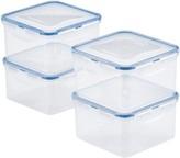 Lock & Lock Easy Essentials 4-pc. 41-Ounce Square Food Storage Container Set