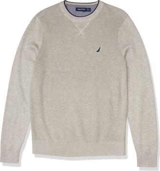 Nautica Men's Ribbed Sweater