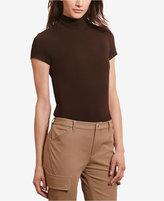 Lauren Ralph Lauren Plus Size Short-Sleeve Turtleneck
