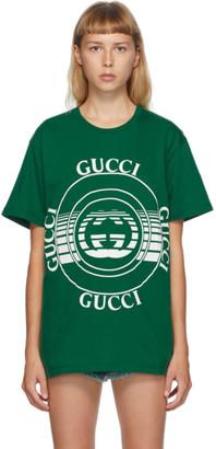 Gucci Green Interlocking G T-Shirt