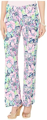 Lilly Pulitzer Georgia May Palazzo (High Tide Navy Tall Order) Women's Casual Pants