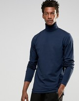 Solid !Solid !SOLID Jersey Roll Neck