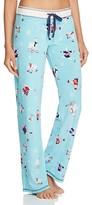 PJ Salvage Llama Velour Thermal Pajama Pants