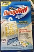 DampRid Hanging Moisture Absorber Fresh Scent - 4 (16 oz/454g) Packs (1, 9 IN)