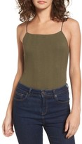 Lush Women's Strappy Bodysuit