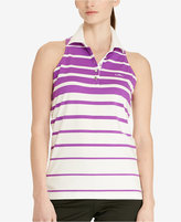 Lauren Ralph Lauren Striped Sleeveless Polo Shirt