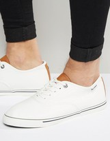 Ben Sherman Teni Oxford White