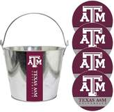 NCAA Texas A&M Aggies Metal Drink Bucket & Paper Coaster 5-piece Set