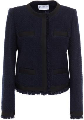 Claudie Pierlot Frayed Tweed Jacket