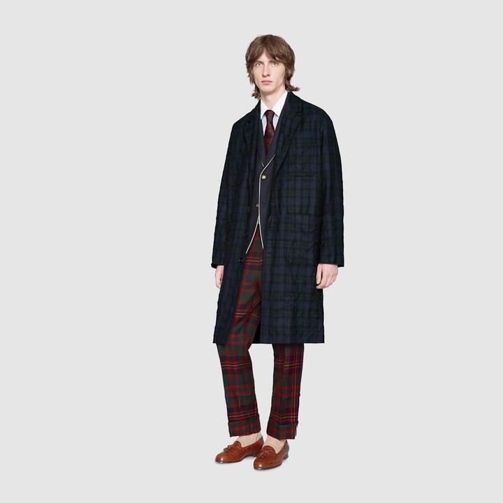 Gucci Flannel coat