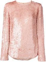 Emilio Pucci beaded sweatshirt - women - Silk - 40