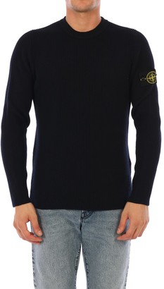 Stone Island Crewneck Knitted Sweater