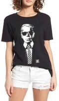 Vans Women's X Karl Lagerfeld Boyfriend Tee