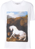 Stella McCartney horse printed T-shirt - women - Cotton - 36
