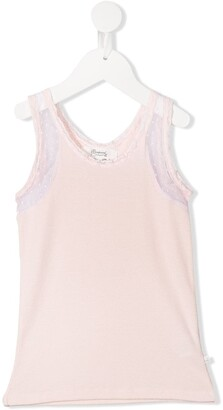 Bonpoint Lace Detail Vest Top